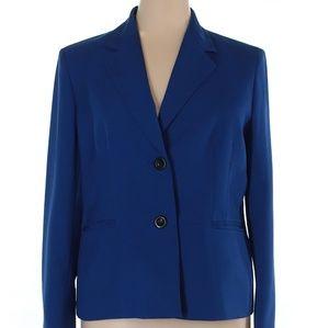Jones Wear Blue Blazer/Jacket size 16